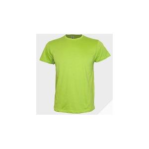 T-shirt unisexo de manga curta em malha jersey, 185grs