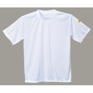 T-Shirt branco ESD Anti-Estatica EN61340-5-1 e EN1149-5
