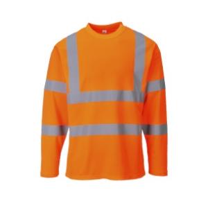 T-Shirt de A.V. m/comprida, 55% Algodão, 45% Poliéster 175g
