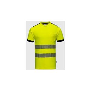 T-Shirt Alta Visibilidade 55% Algodão, 45% Poliéster 175gr
