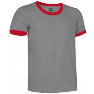 T-Shirt combinada de 2 cores c/185 grs.disp.varias cores