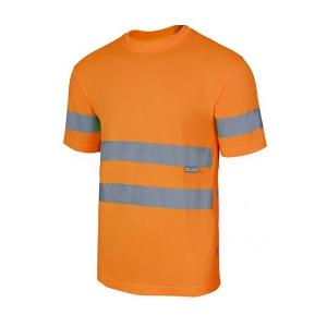 T-shirt de Alta Visibilidade 100% poliéster, 140grs