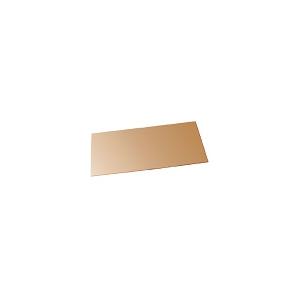 Viseira dourada policarbonato,150x250x1mm,EN166/171 e EN366.