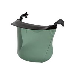Viseira c/suporte pala,policarbonato verde PELTOR V4E EN166
