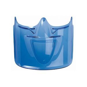 Viseira em Policarbonato cor Azul para óculos ATOM