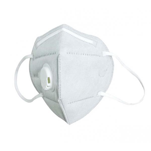 Mascara descartável KN95 (tipo FFP2), com valvula.
