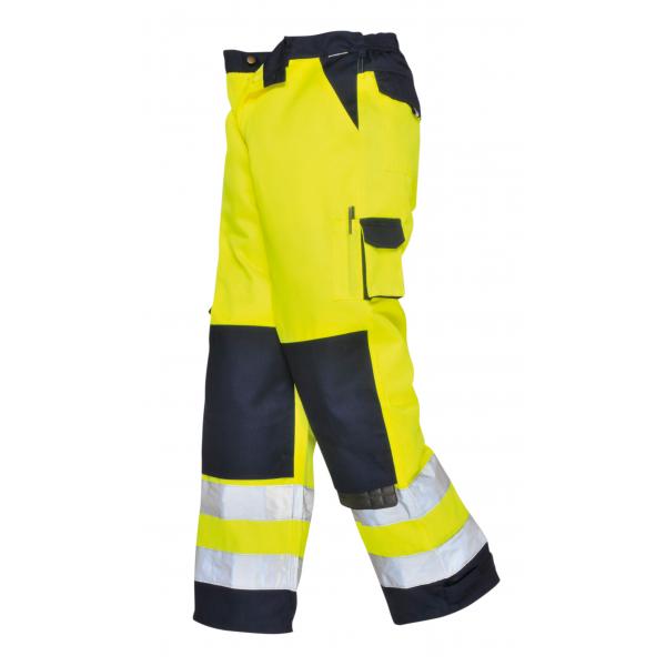 Calça bicolor alta visibilidade Texo, classe 2 EN 471