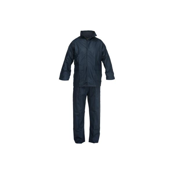 Fato chuva Impermeavel 100% Poliuretano Strecht,Azul Marinho