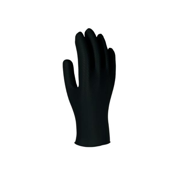 Luvas descartáveis em nitrilo de proteção quimica B, cx 50.