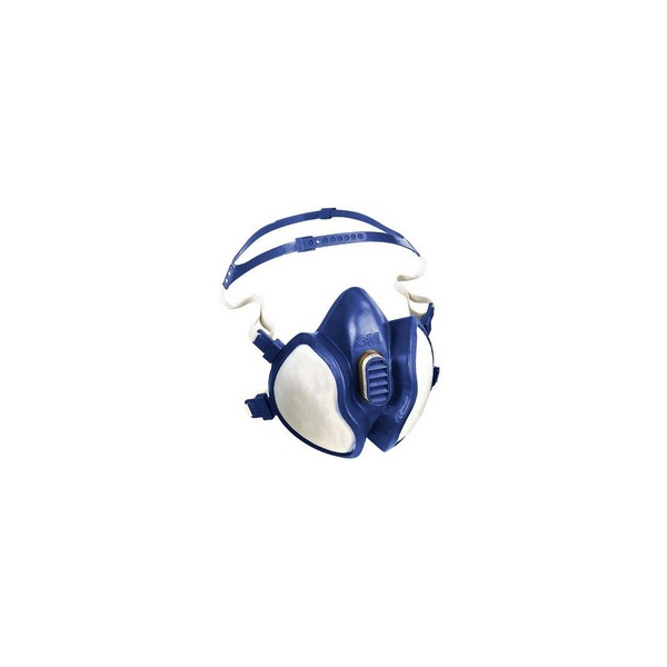 Semi Máscara 3M isenta de manutenção c/ filtros ABE1P3RD