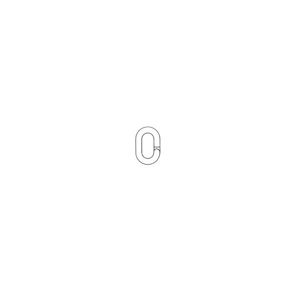 Elos de ligação tipo espiral para corrente de 6mm