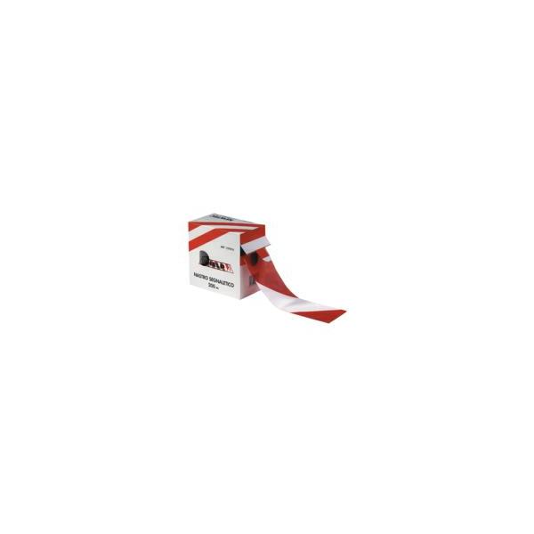 Fita Balizadora Vermelho/Branco 5cm*500m 30 Microns